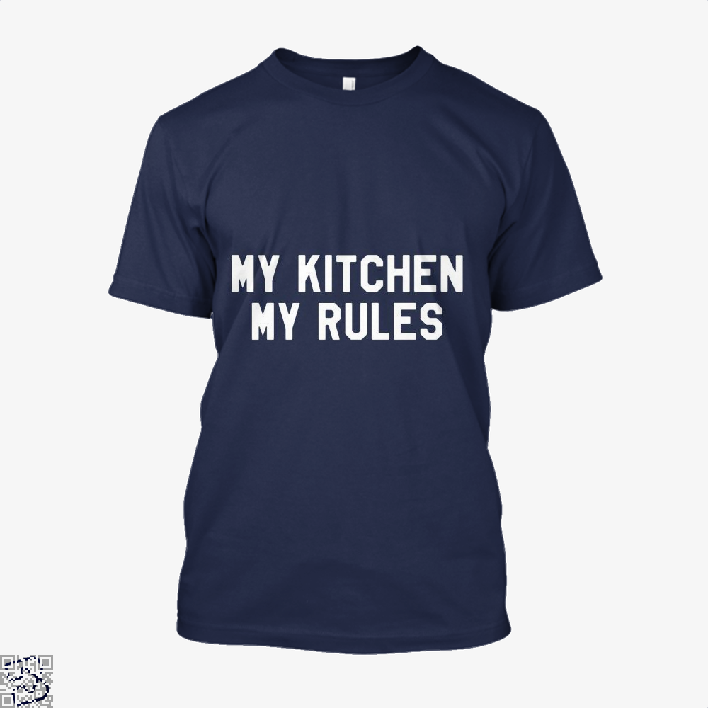 My Kitchen Rules Chefs Shirt - Men / Blue / X-Small - Productgenapi