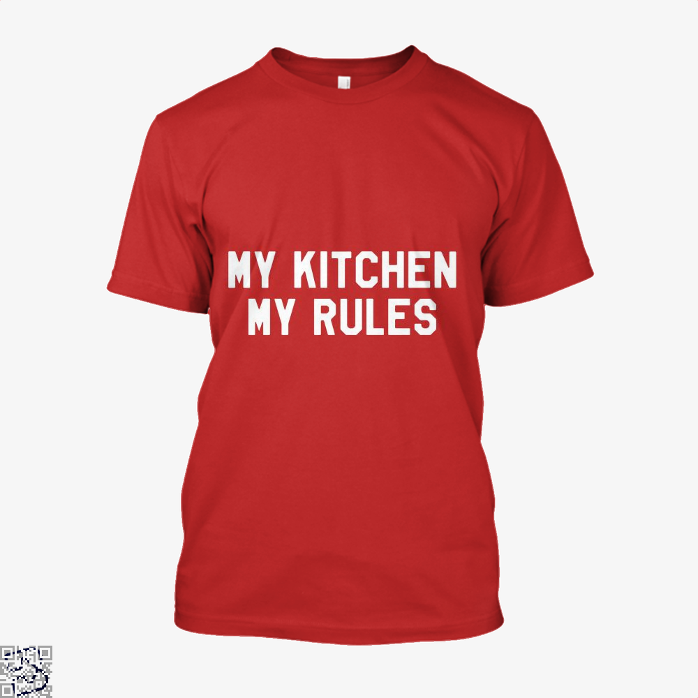 My Kitchen Rules Chefs Shirt - Men / Red / X-Small - Productgenapi