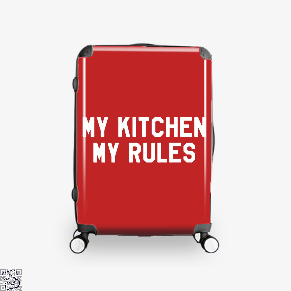 My Kitchen Rules Chefs Suitcase - Red / 16 - Productgenapi