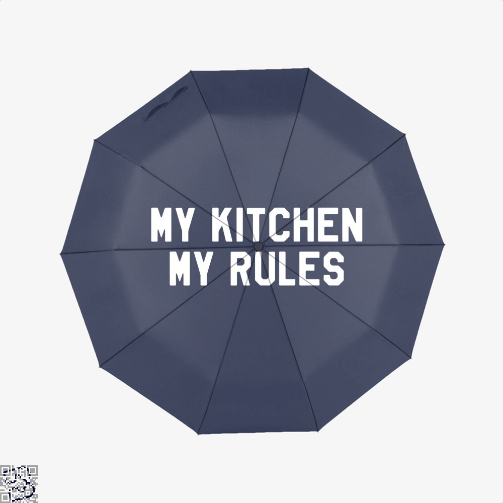 My Kitchen Rules Chefs Umbrella - Blue - Productgenapi