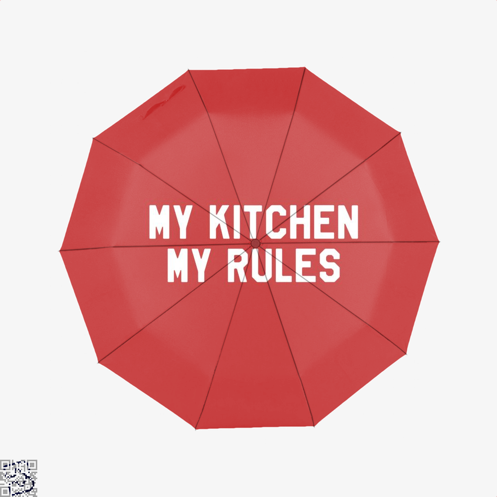 My Kitchen Rules Chefs Umbrella - Red - Productgenapi