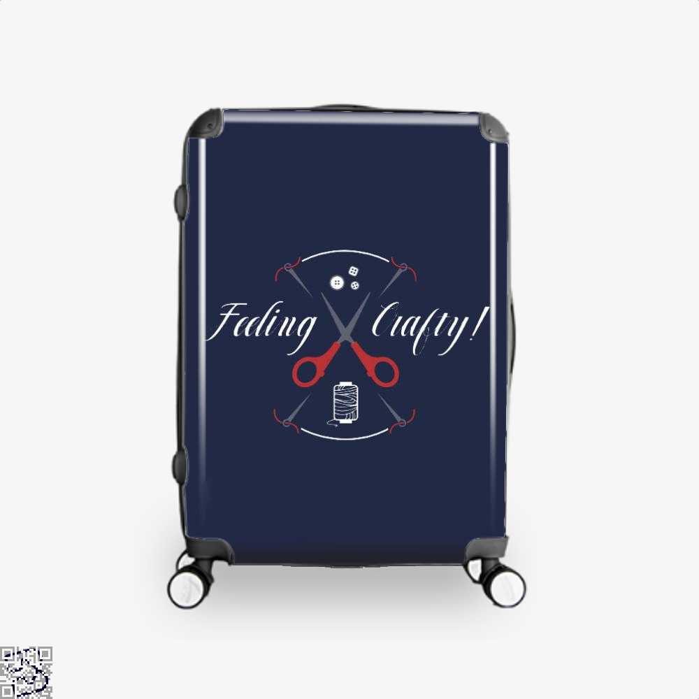 Needle And Thread Feeling Crafty Sewing Suitcase - Blue / 16 - Productgenjpg