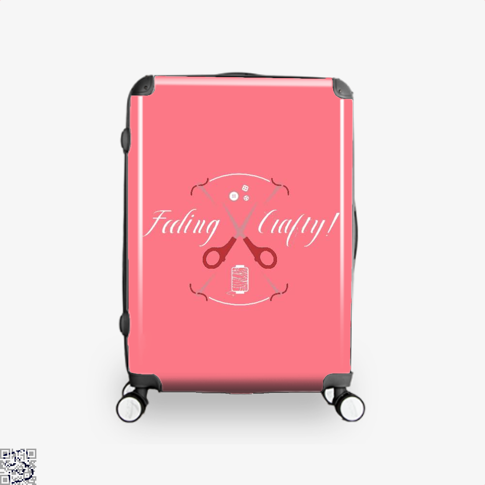 Needle And Thread Feeling Crafty Sewing Suitcase - Pink / 16 - Productgenjpg