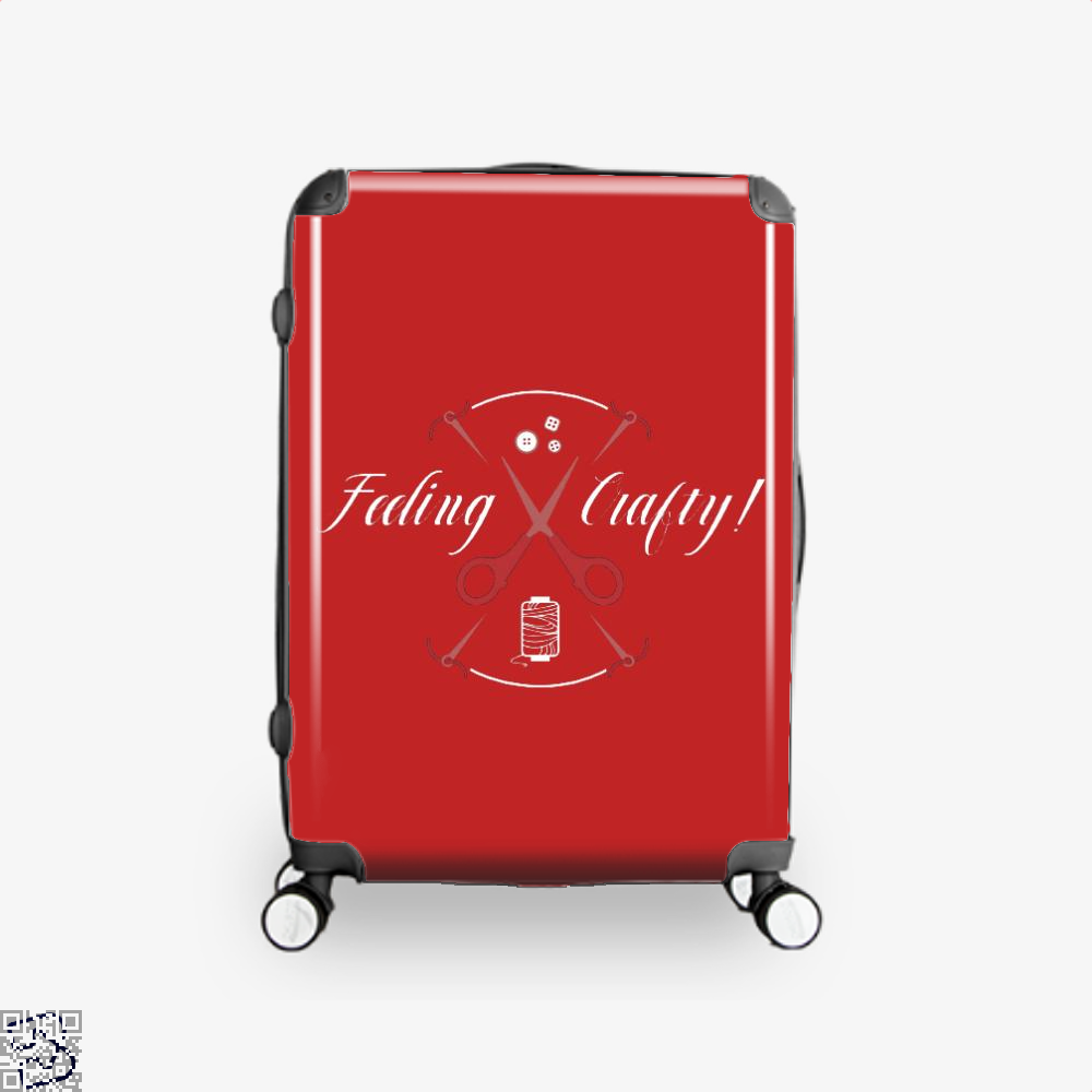 Needle And Thread Feeling Crafty Sewing Suitcase - Red / 16 - Productgenjpg