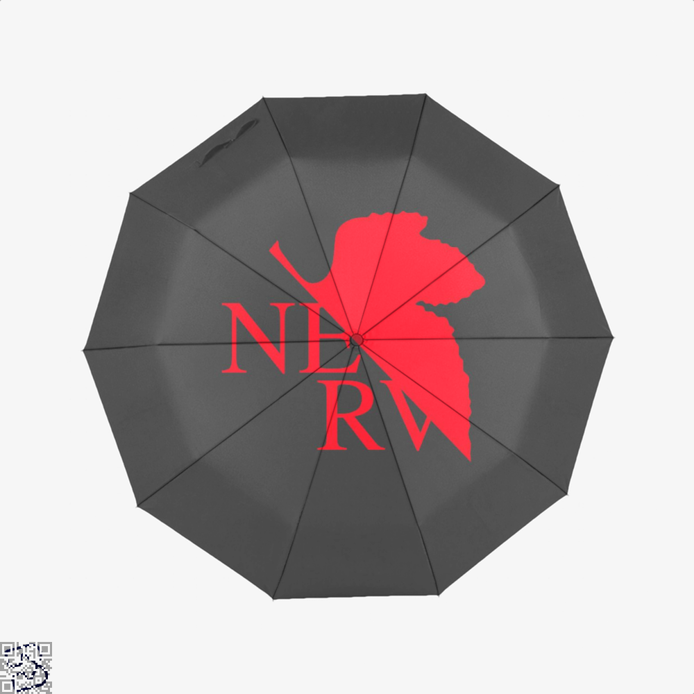 Nerv Genesis Gundam Umbrella - Black - Productgenjpg