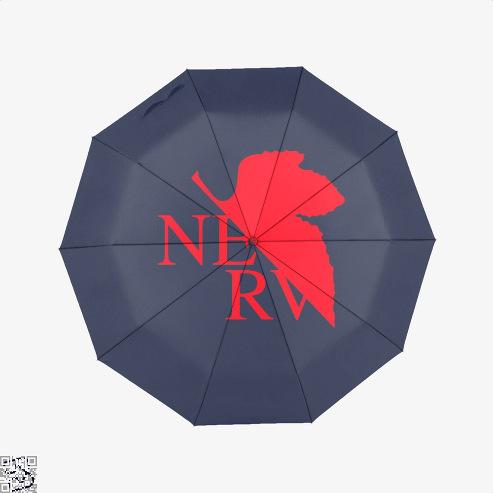 Nerv Genesis Gundam Umbrella - Blue - Productgenjpg
