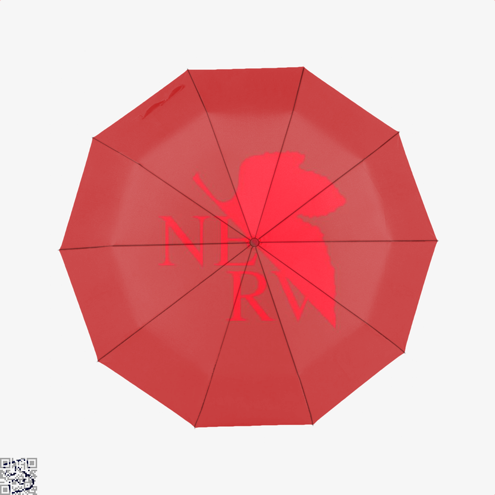 Nerv Genesis Gundam Umbrella - Red - Productgenjpg