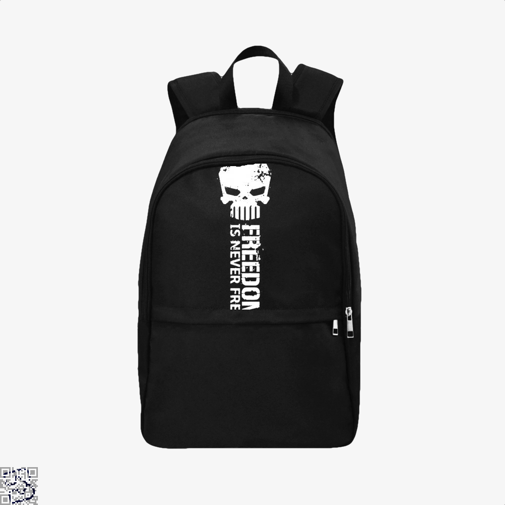 Never Forget Teasing Backpack - Black / Adult - Productgenjpg