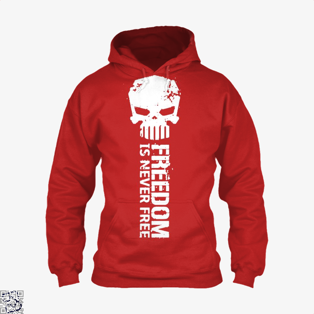 Never Forget Teasing Hoodie - Red / X-Small - Productgenjpg