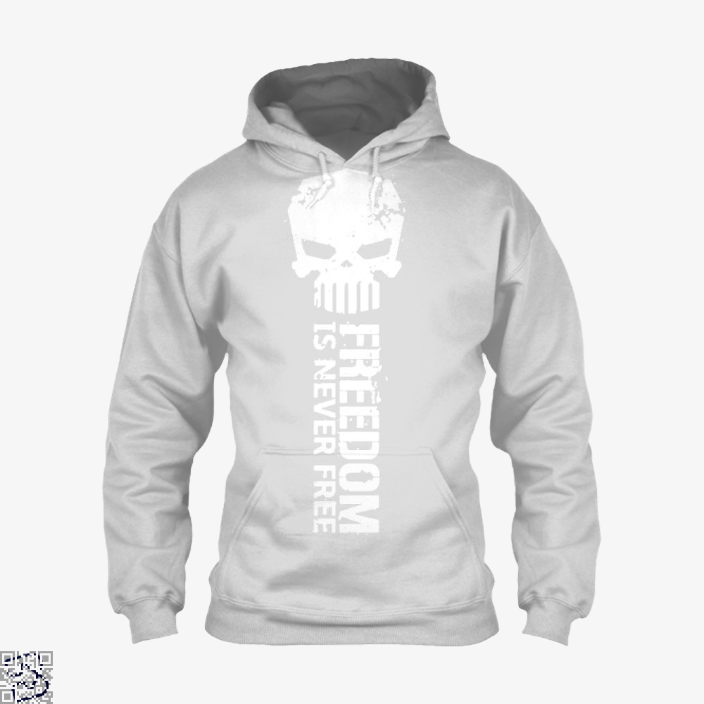 Never Forget Teasing Hoodie - White / X-Small - Productgenjpg