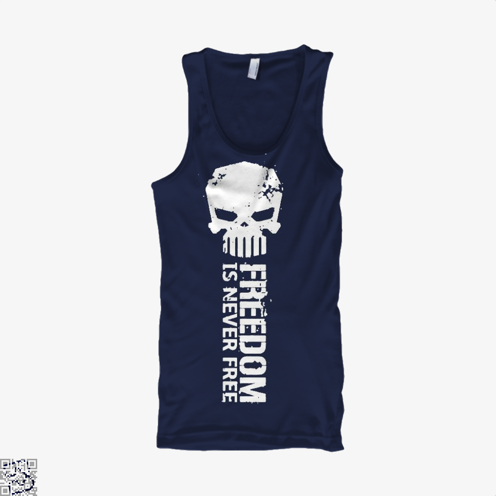 Never Forget Teasing Tank Top - Men / Blue / X-Small - Productgenjpg