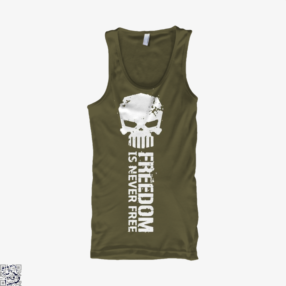 Never Forget Teasing Tank Top - Men / Brown / X-Small - Productgenjpg