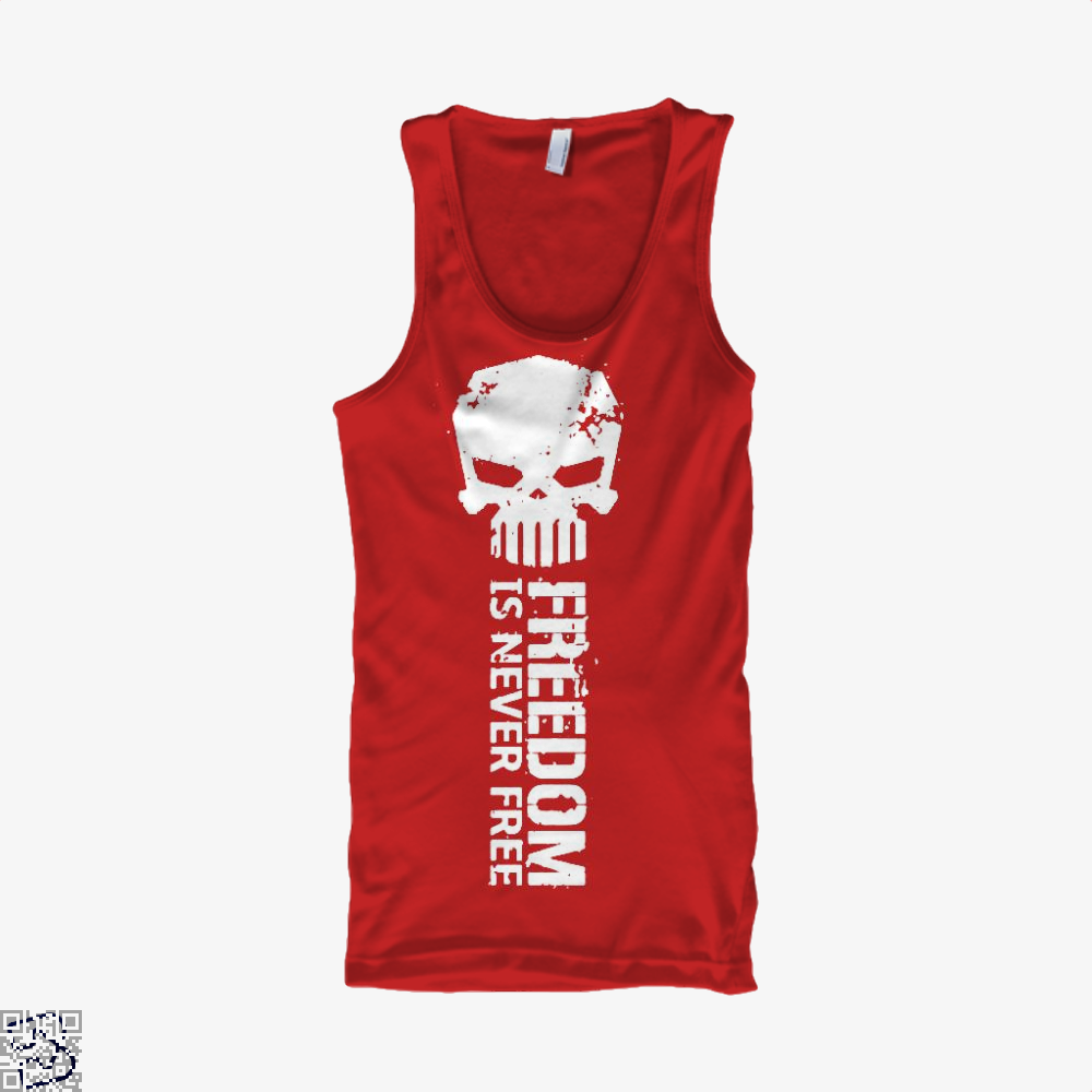 Never Forget Teasing Tank Top - Women / Red / X-Small - Productgenjpg