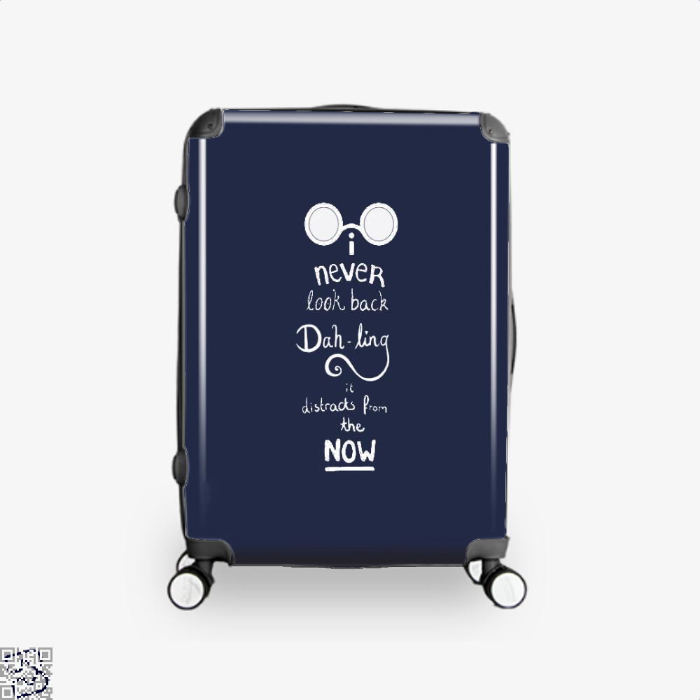 Never Look Back Darling Incredibles Suitcase - Blue / 16 - Productgenapi