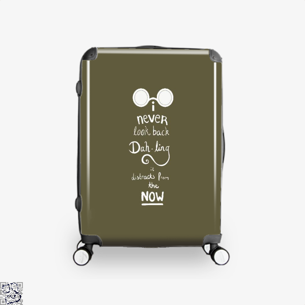 Never Look Back Darling Incredibles Suitcase - Brown / 16 - Productgenapi