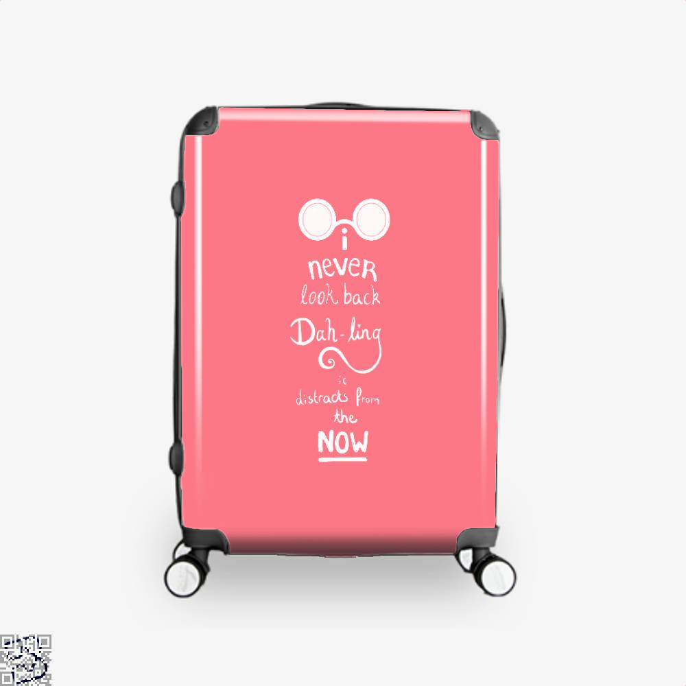 Never Look Back Darling Incredibles Suitcase - Pink / 16 - Productgenapi