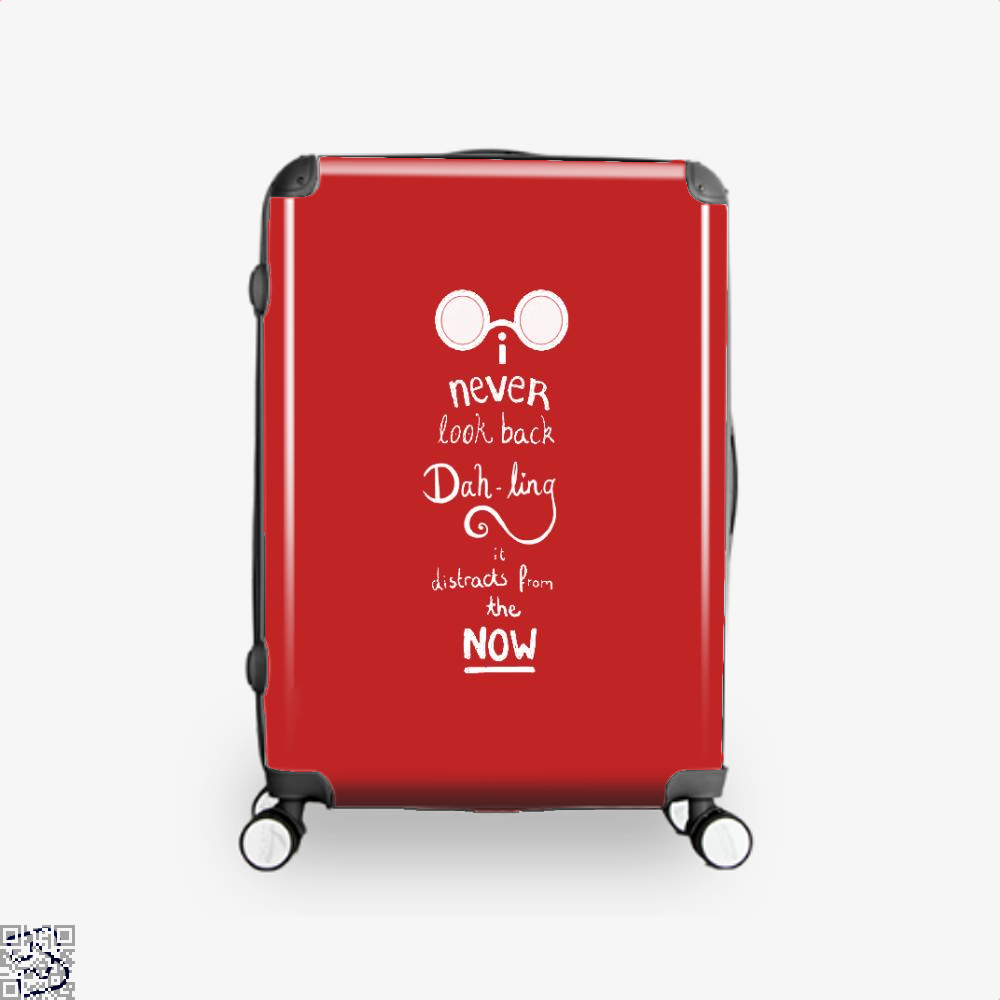 Never Look Back Darling Incredibles Suitcase - Red / 16 - Productgenapi