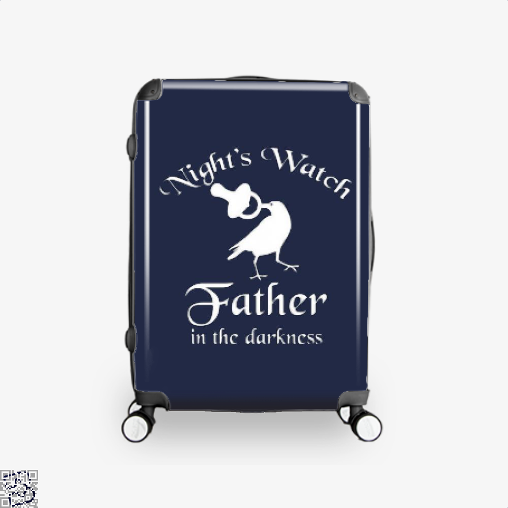 Nights Watch Inspired Game Of Thrones Suitcase - Blue / 16 - Productgenjpg