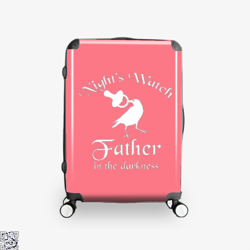 Nights Watch Inspired Game Of Thrones Suitcase - Pink / 16 - Productgenjpg
