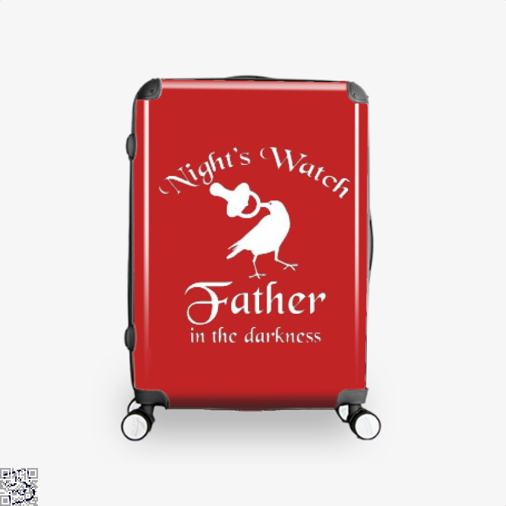 Nights Watch Inspired Game Of Thrones Suitcase - Red / 16 - Productgenjpg