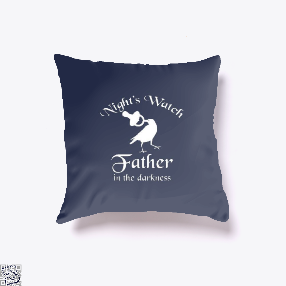 Nights Watch Inspired Game Of Thrones Throw Pillow Cover - Blue / 16 X - Productgenjpg