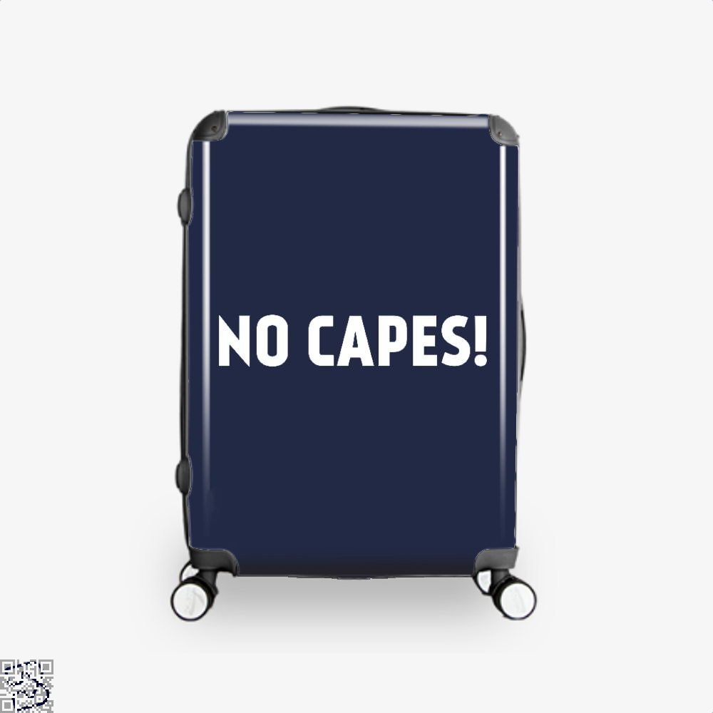 No Capes Incredibles Suitcase - Blue / 16 - Productgenapi