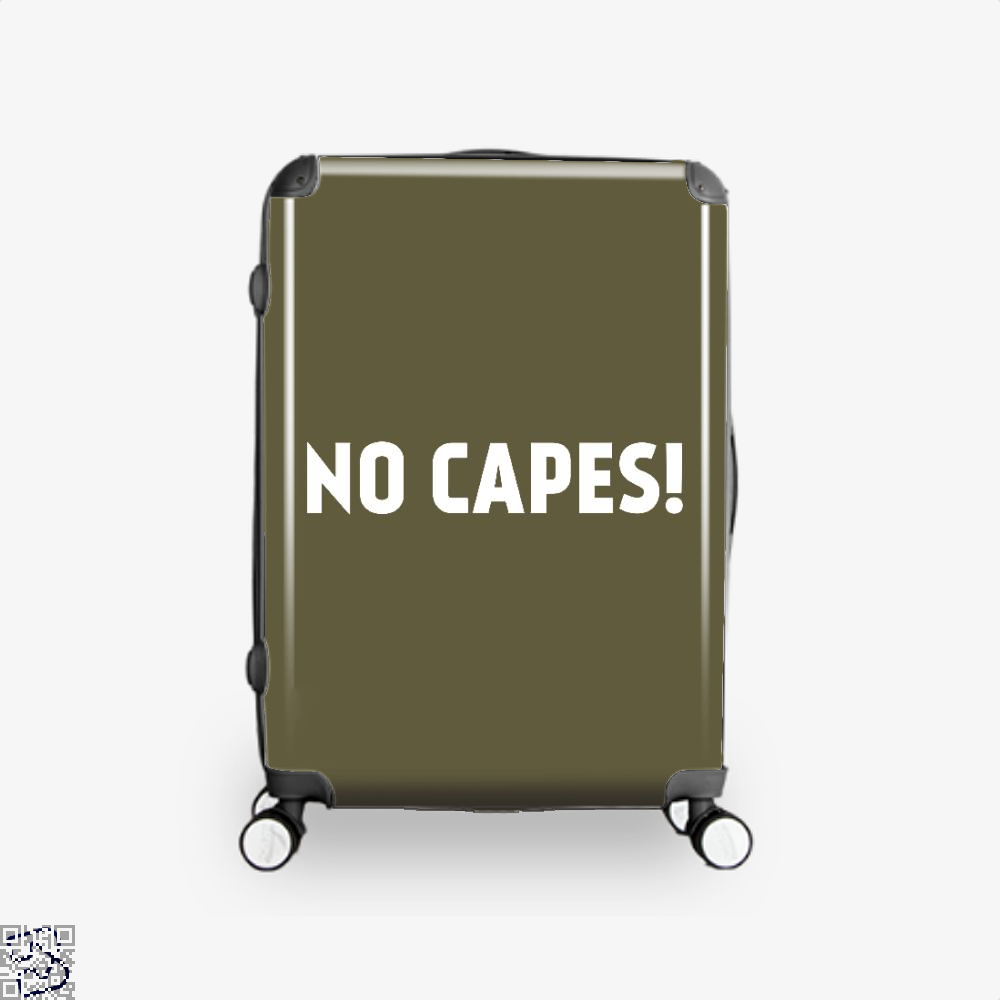 No Capes Incredibles Suitcase - Brown / 16 - Productgenapi