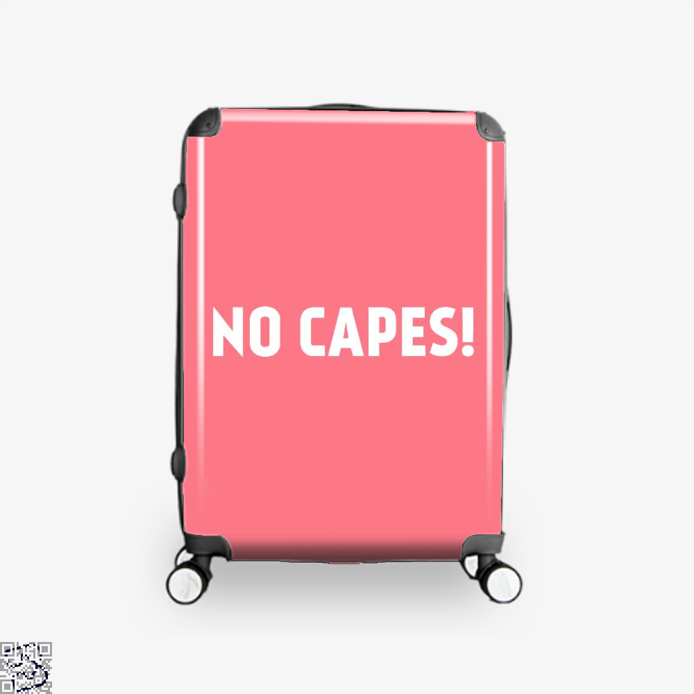 No Capes Incredibles Suitcase - Pink / 16 - Productgenapi