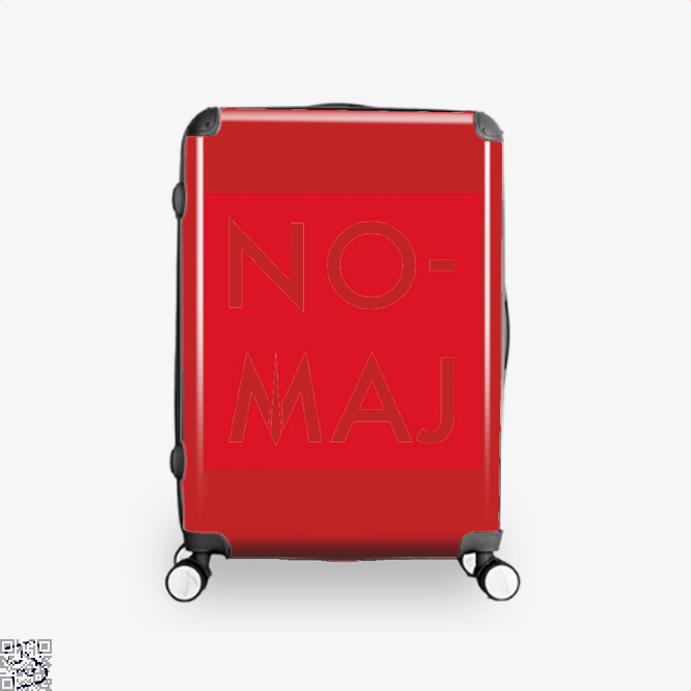 No Maj Harry Potter Suitcase - Red / 16 - Productgenjpg