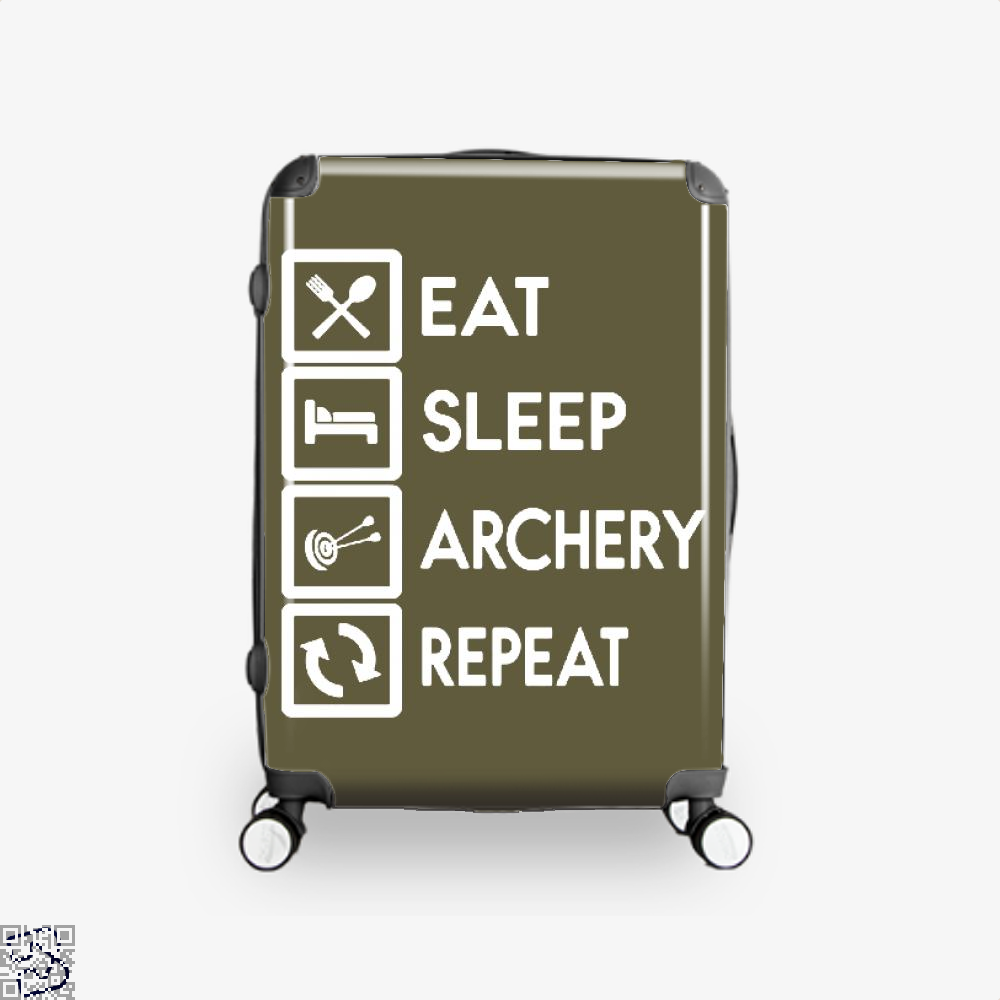 Nock Whos There Two Arrows Archery Suitcase - Brown / 16 - Productgenapi