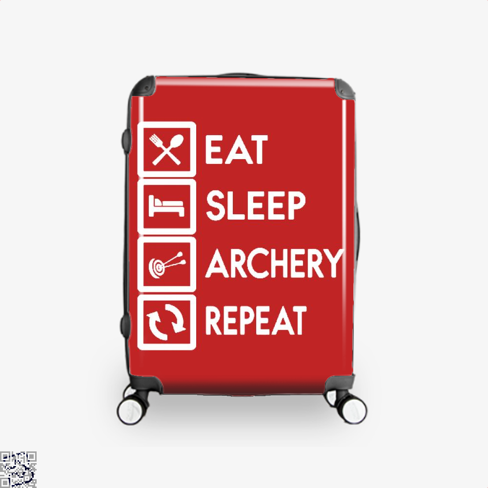 Nock Whos There Two Arrows Archery Suitcase - Red / 16 - Productgenapi