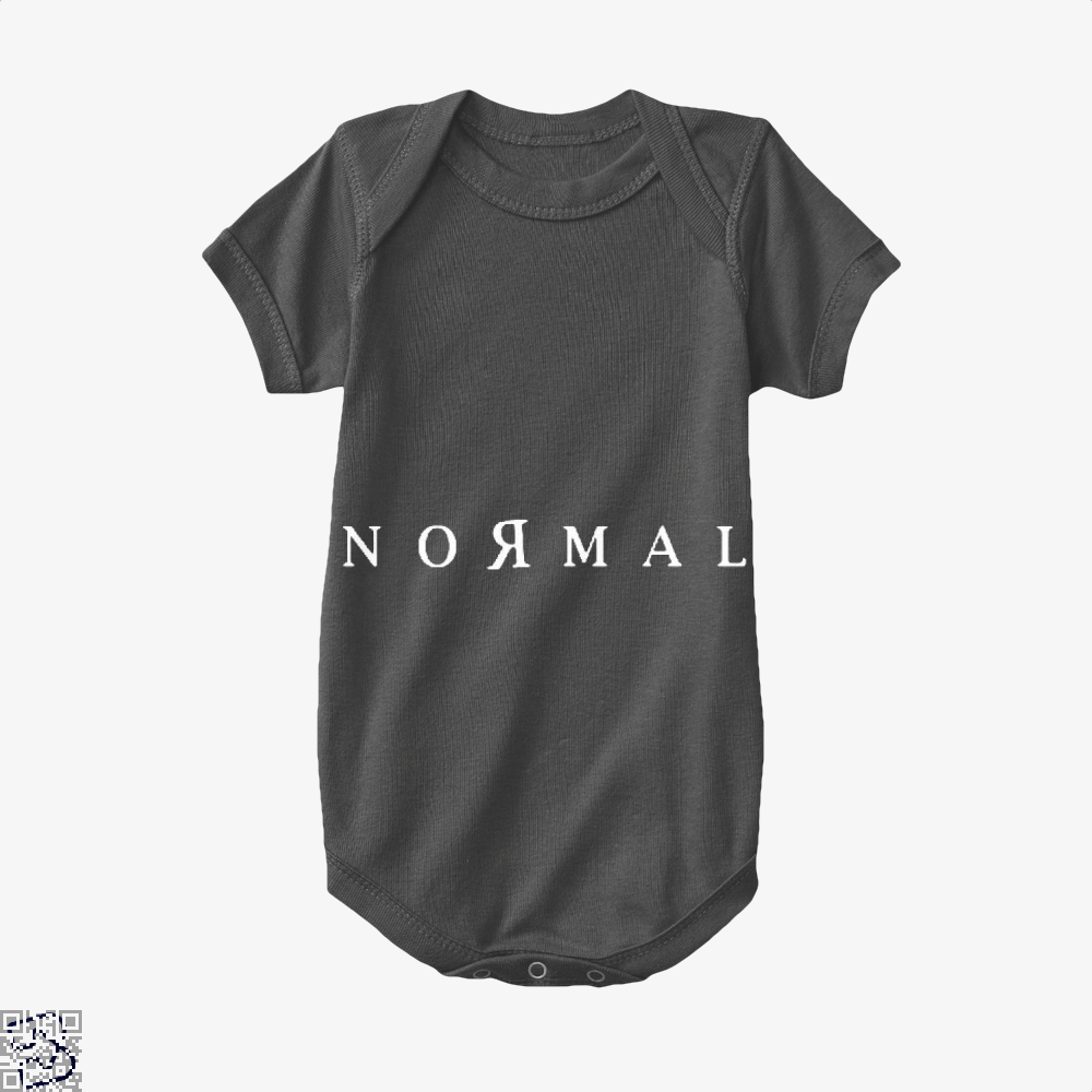 Normal Anti-Establishment Baby Onesie - Black / 0-3 Months - Productgenapi
