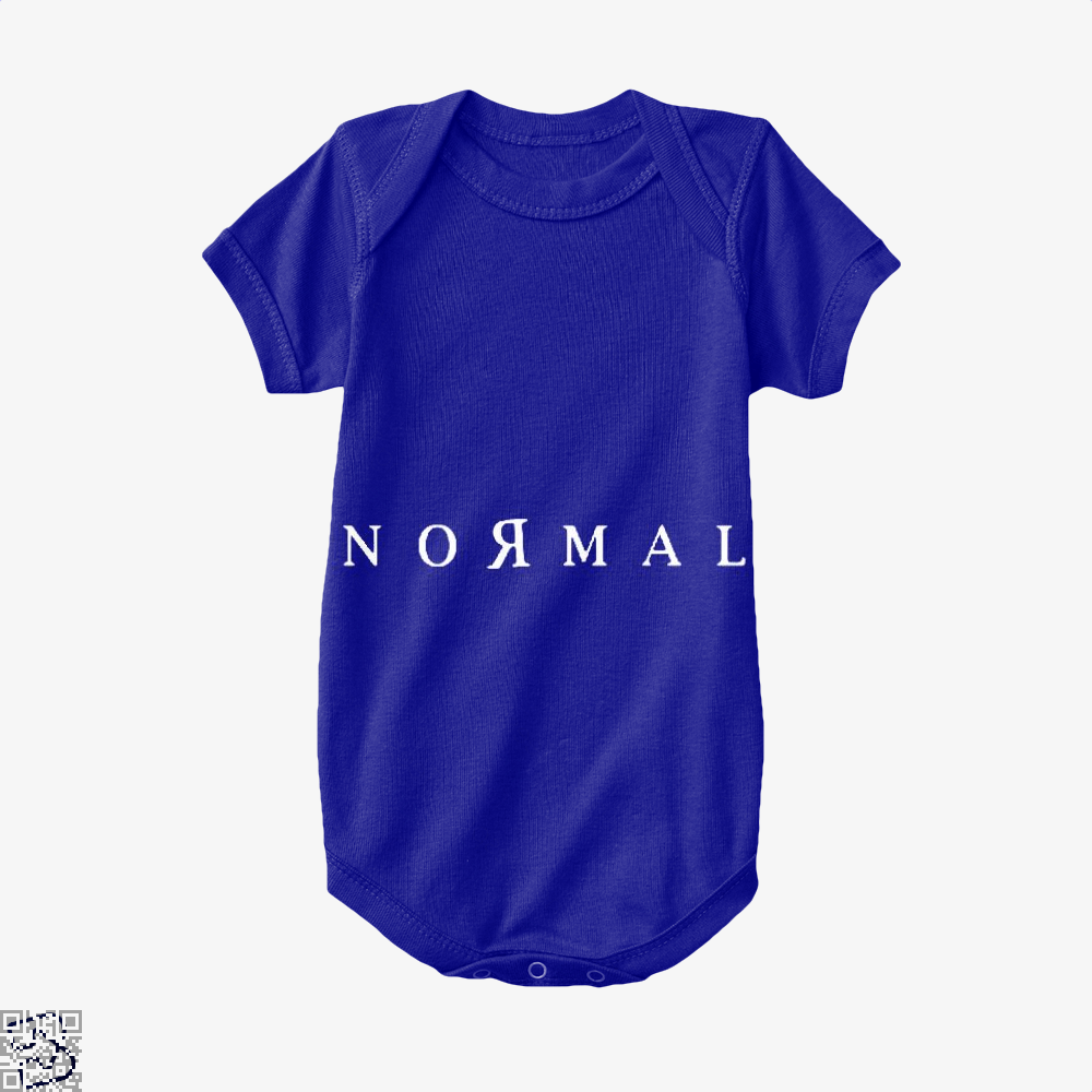 Normal Anti-Establishment Baby Onesie - Navy / 0-3 Months - Productgenapi