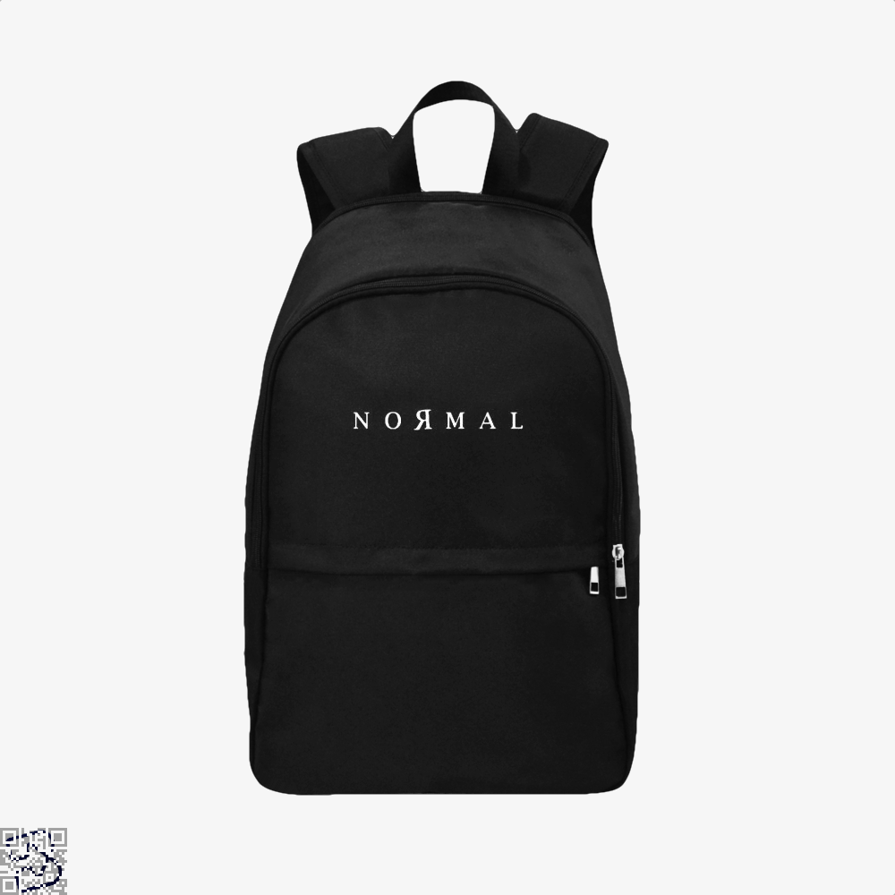 Normal Anti-Establishment Backpack - Black / Adult - Productgenapi