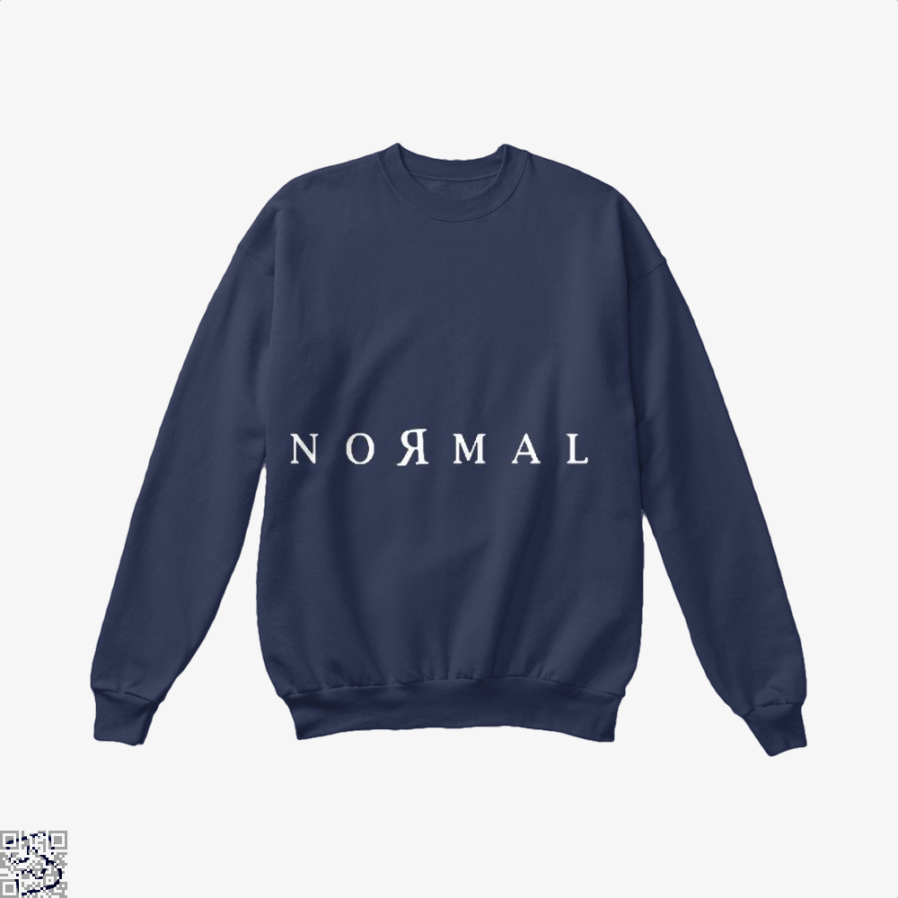 Normal Anti-Establishment Crew Neck Sweatshirt - Blue / X-Small - Productgenapi