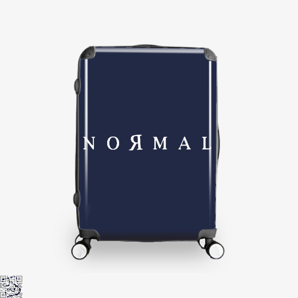 Normal Anti-Establishment Suitcase - Blue / 16 - Productgenapi
