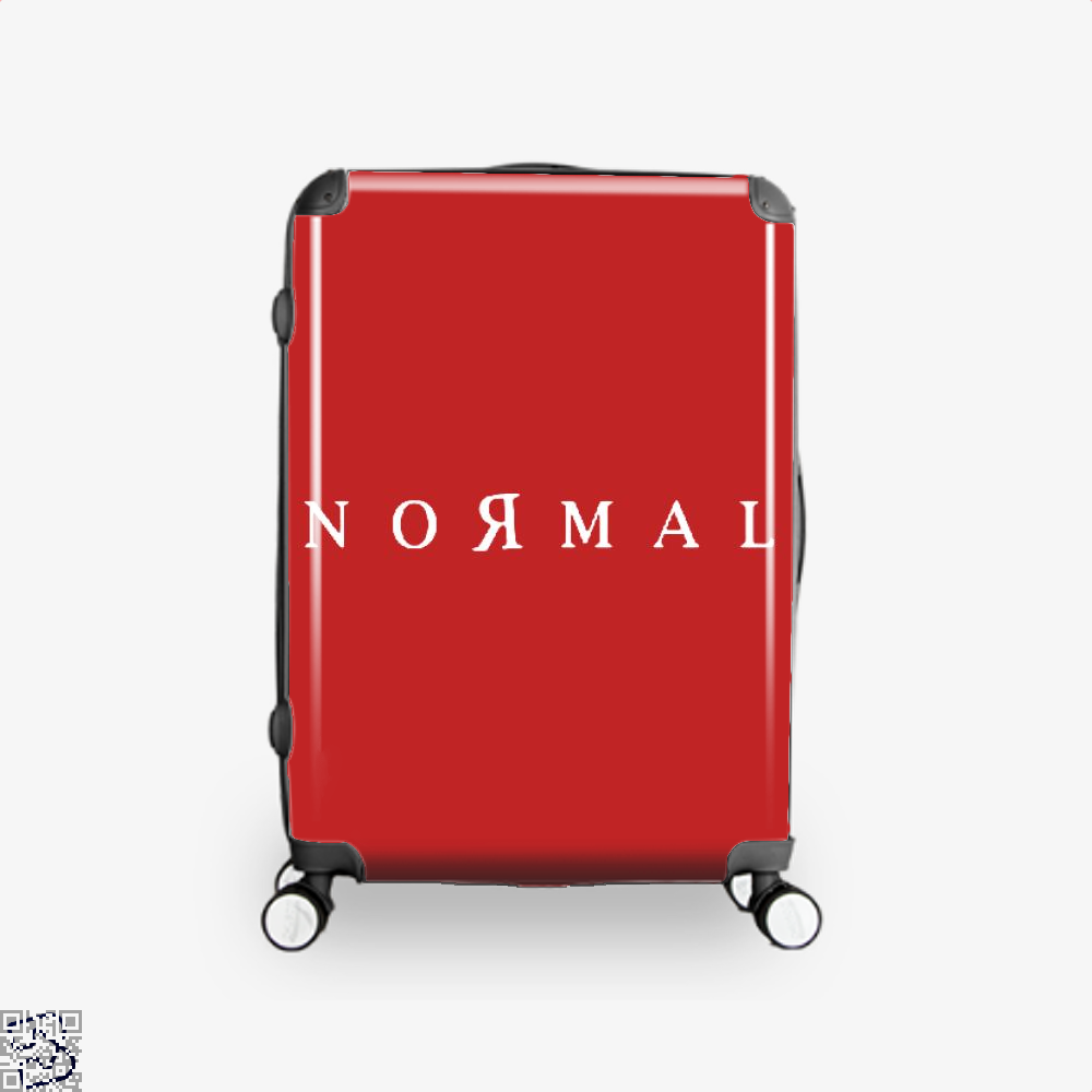 Normal Anti-Establishment Suitcase - Red / 16 - Productgenapi