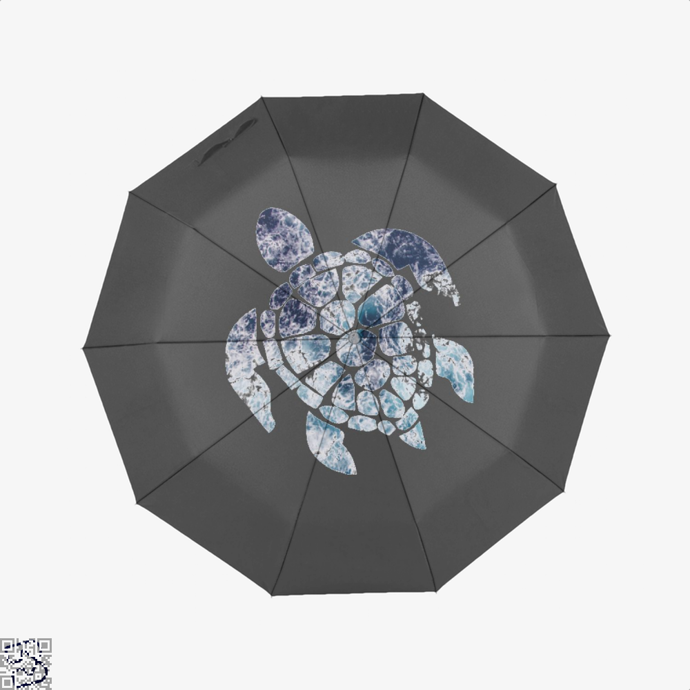 Ocean Sea Turtle Turtles Umbrella - Black - Productgenjpg
