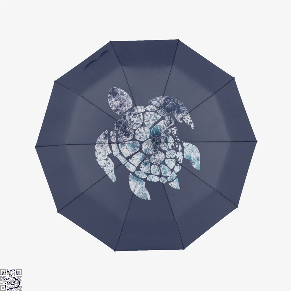 Ocean Sea Turtle Turtles Umbrella - Blue - Productgenjpg