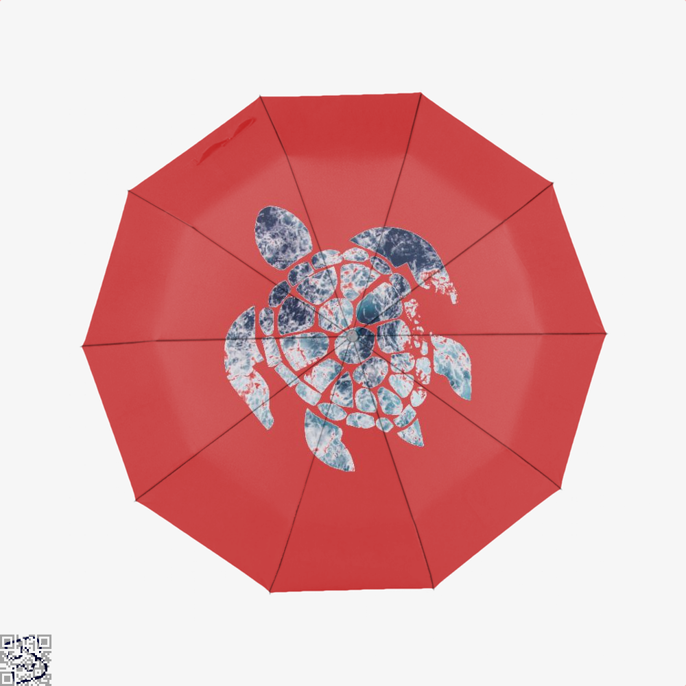 Ocean Sea Turtle Turtles Umbrella - Red - Productgenjpg