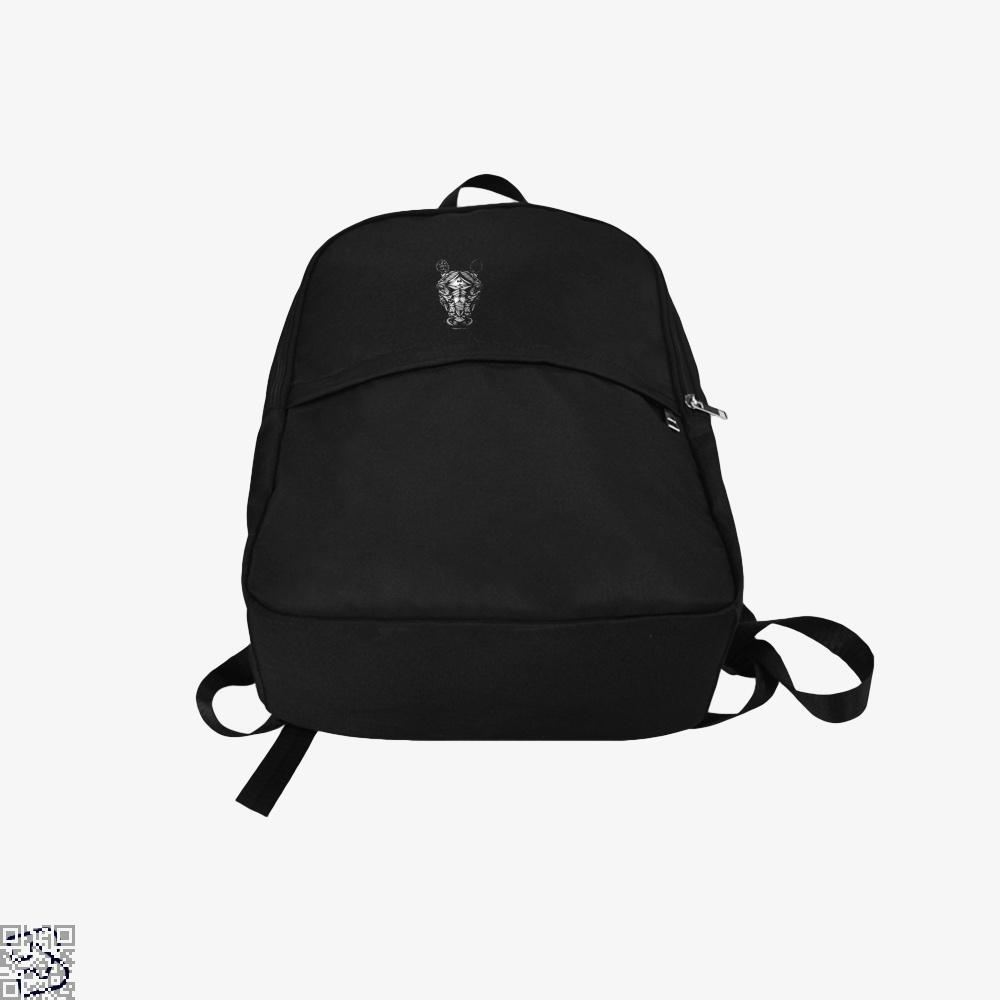 Ornate Horse Head Bw Backpack - Productgenjpg