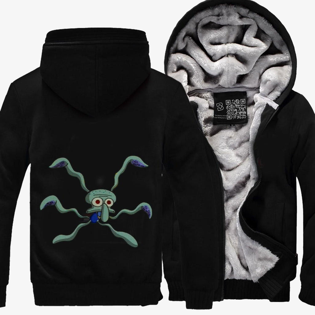 Squidwards Dance, Spongebob Squarepants Fleece Jacket