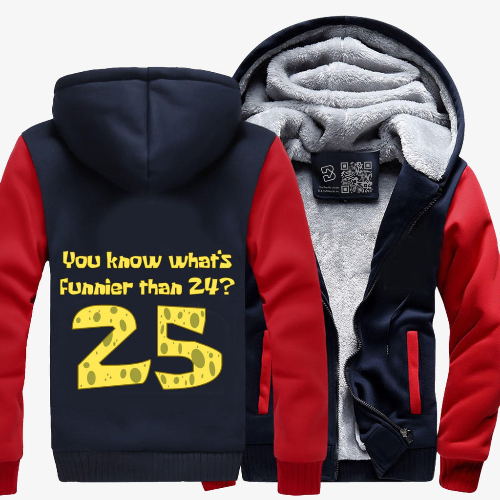 25, Spongebob Squarepants Fleece Jacket