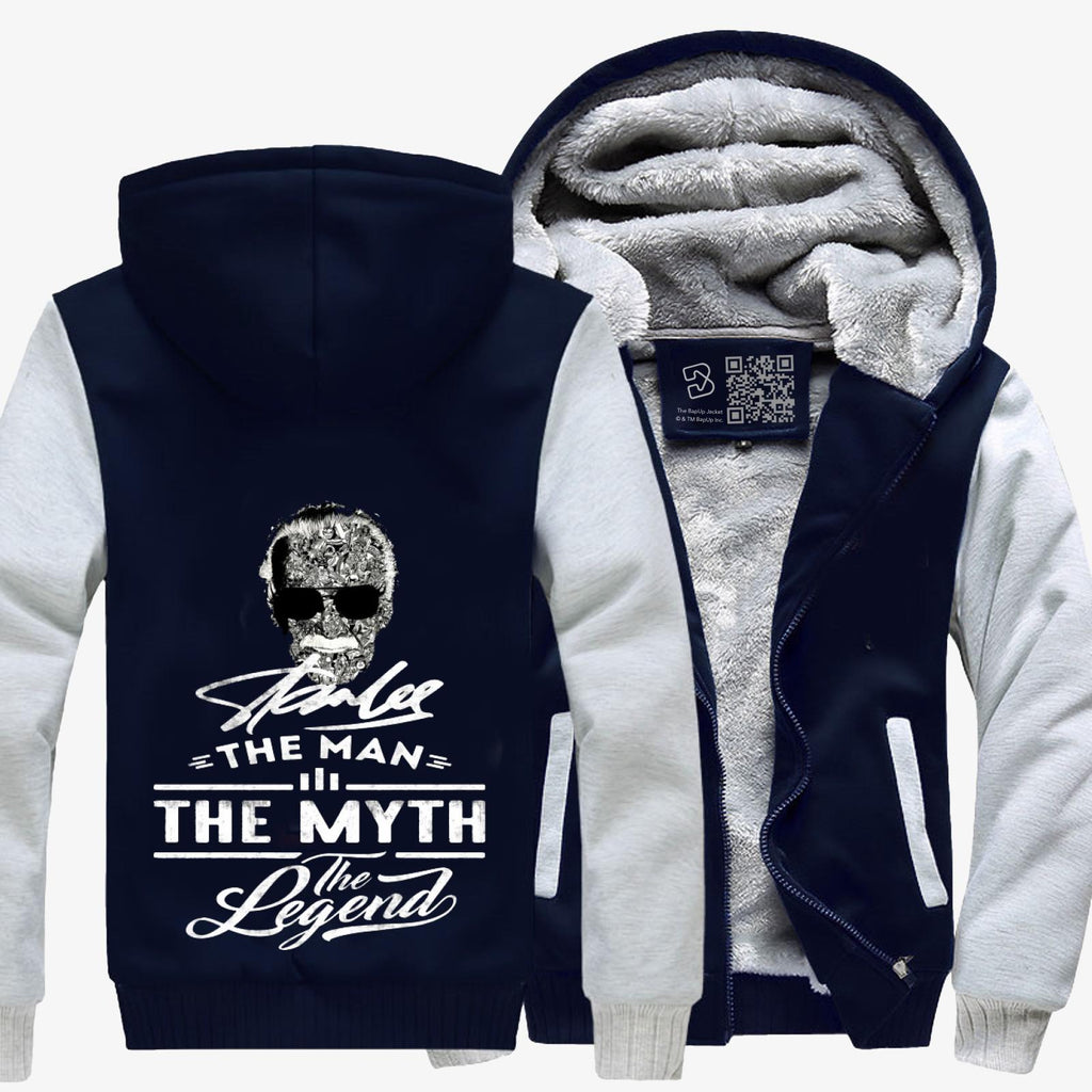 Stan Lee The Man The Myth The Legend, Stan Lee Fleece Jacket