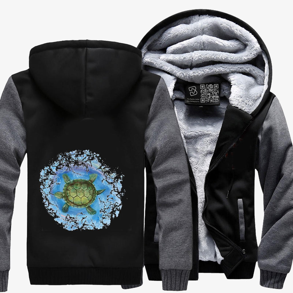 Twisted Turtle , Kamloopsartparty Fleece Jacket
