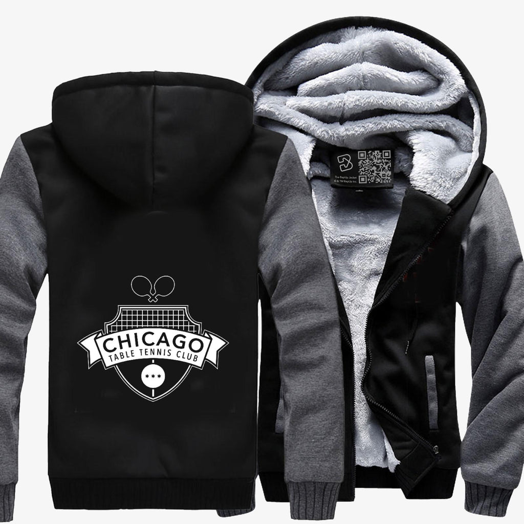 Chicago Ttc Pocket, Tennis Fleece Jacket