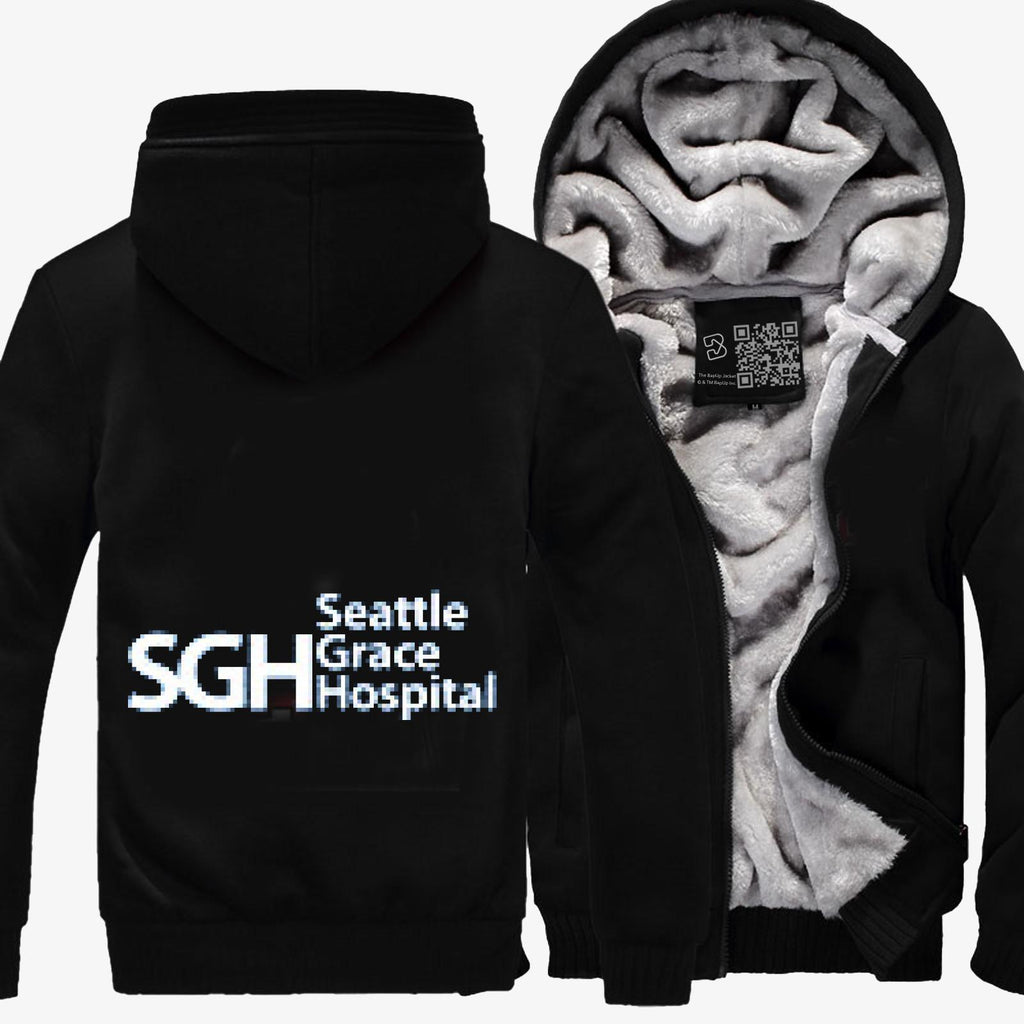 Seattle Grace Hospital, Grey's Anatomy Fleece Jacket