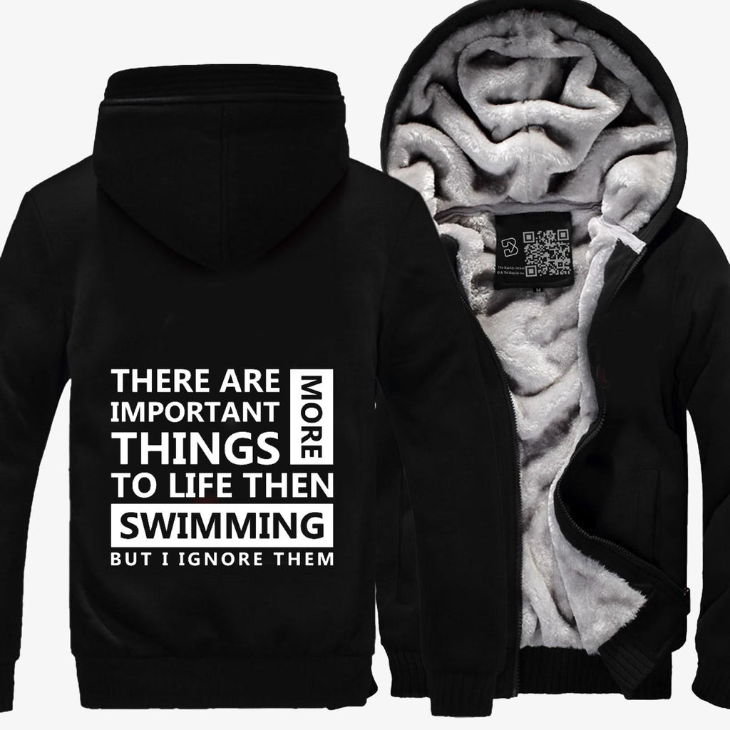 Swimming Love, Swim Fleece Jacket