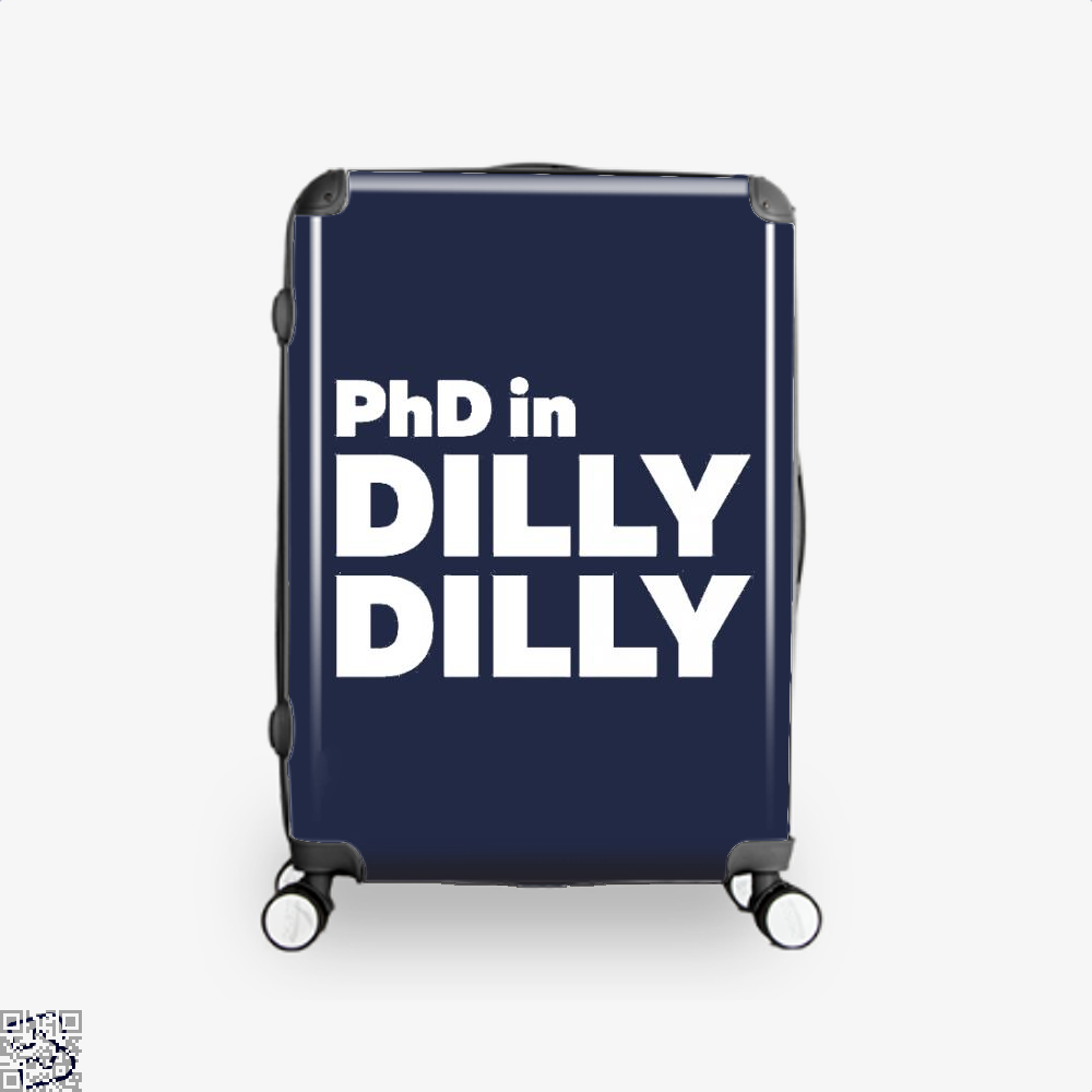 Phd In Dilly Dilly Dilly Dilly Suitcase - Blue / 16 - Productgenapi
