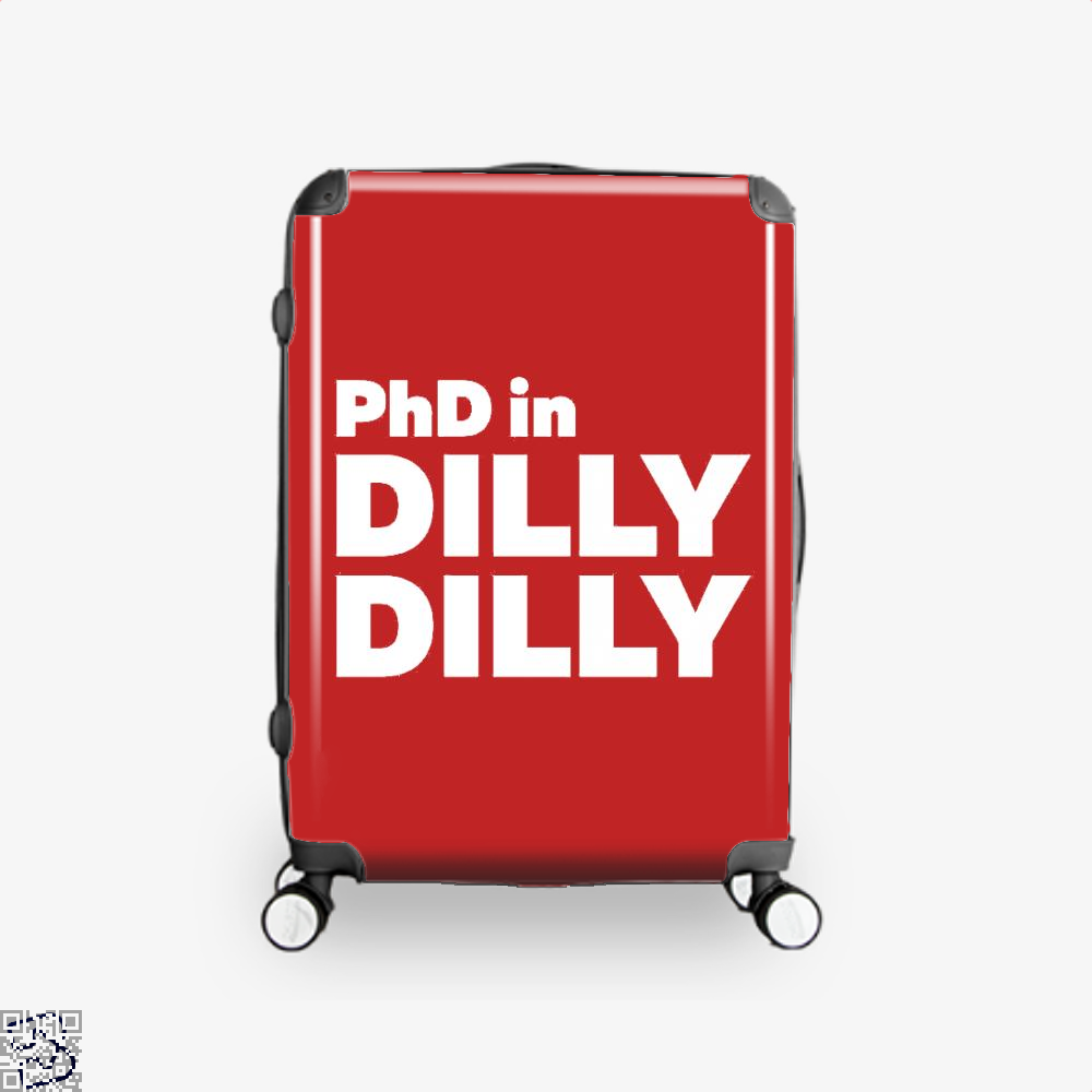 Phd In Dilly Dilly Dilly Dilly Suitcase - Red / 16 - Productgenapi